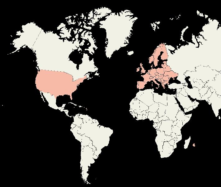 Carte de distribution Pouliquen